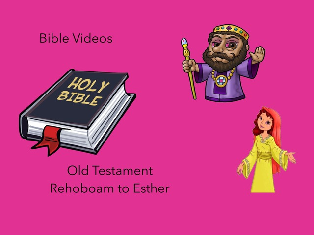 Old Testament: Rehoboam To Esther by Carol Smith