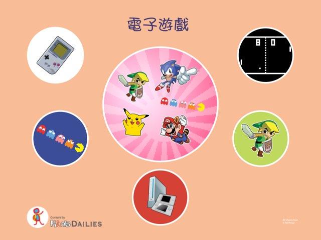 電子遊戲的歷史 by Kids Dailies