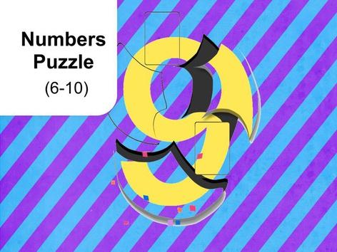 Numbers Puzzle 6-10 (EN UK) by Mr. Puzzlez
