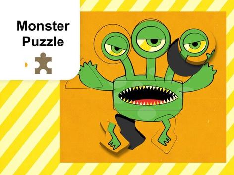 Monster Puzzle (EN UK) by Mr. Puzzlez