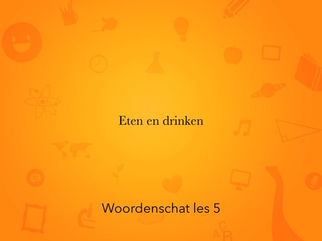 Woordenschat Les 5 by Jan Knuivers