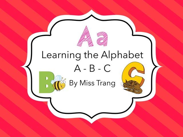 Letter A B C by Trang Quỳnh