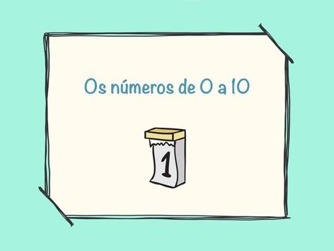 Os números de 0 a 10 by Raquel