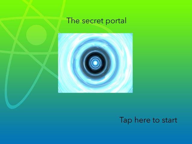 The Secret Portal by 3NM iPad