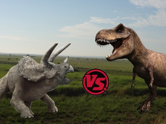 Dinosaur Fights by Andrea Piazza
