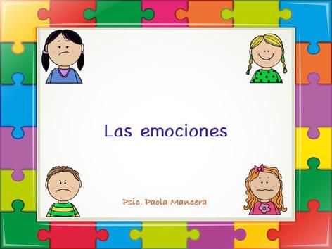 Identificando Emociones Básicas by Pao Mancera