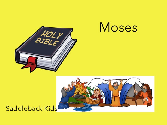 Bible Videos: Moses by Carol Smith