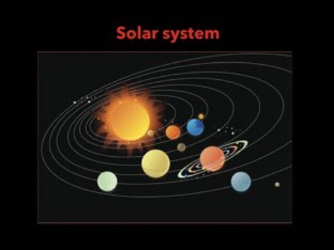 English Solar System by Giulia Gatti