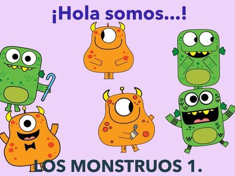 Los Monstruos Actividad 1. by Jose Sanchez Ureña