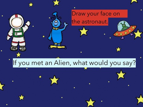 Alien Meeting by Rhiannon Smith-Brennan