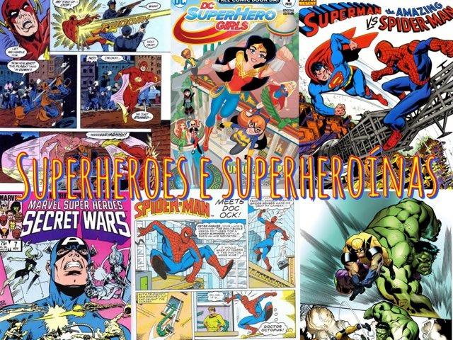 XOGO DE SUPERHEROES E SUPERHEROÍNAS by Ceipbalaidos Balaidos