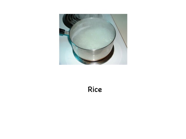 Rice by Rebecca Jarvis