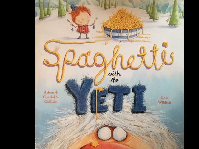 Spaghetti With The Yeti (CVI)  by Diana Fitzpatrick