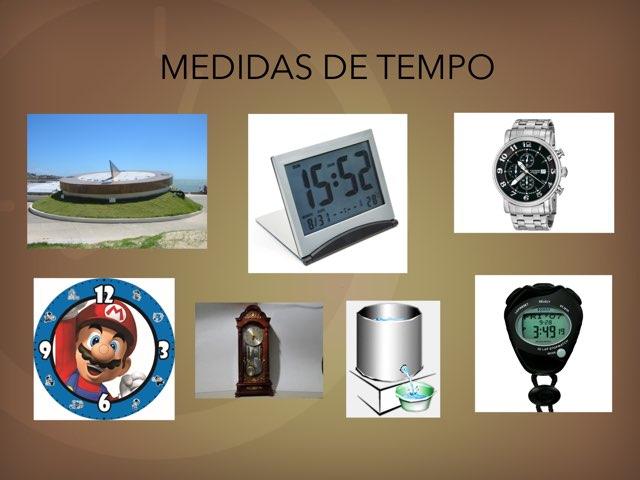 Medidas De Tempo by Cinthia Castro