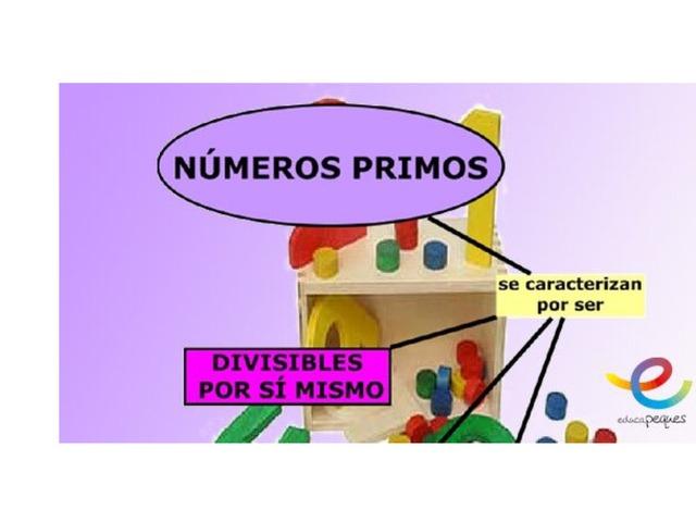 Los Números Primos by yolanda berruguete