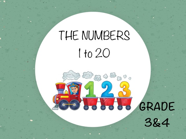 The Numbers 1-20 by Laurence Micheletti