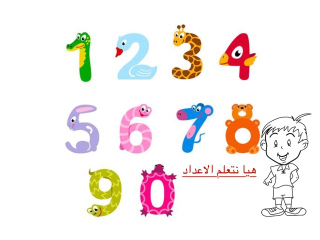 هيا نتعلم الاعداد by Nisreen Diab