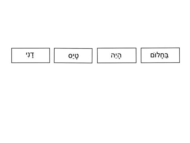 המילים התבלבלו by צפנת הלוי