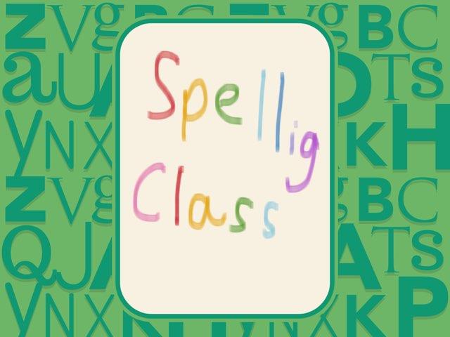 Spelling Class by Gugus Ibuas