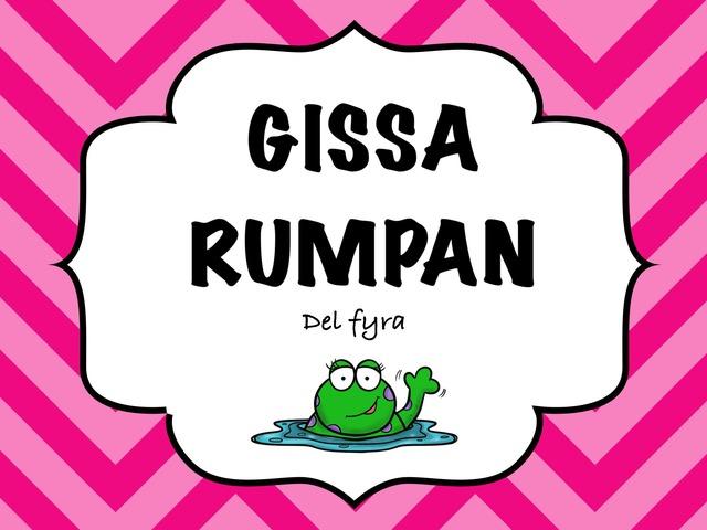 Gissa Rumpan 4 by Caroline Hermansson