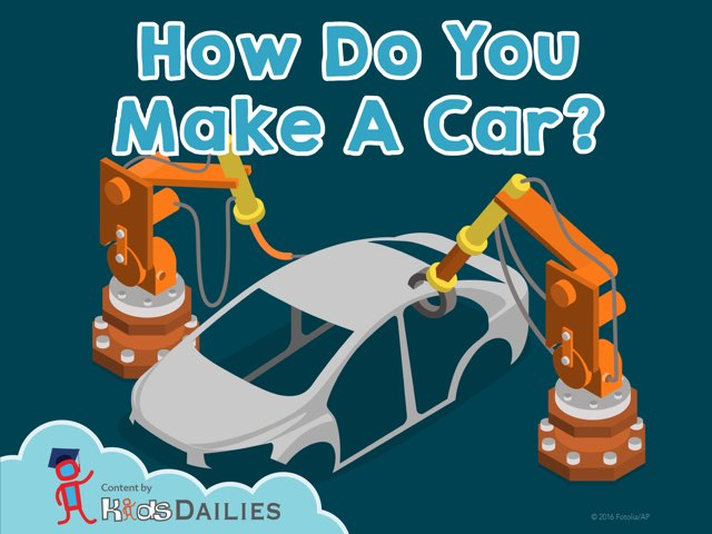 How Do You Make A Car? by Kids Dailies