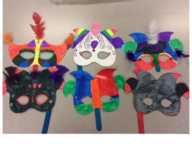 Scharpf 2018 Carnaval Masks by Emily Urquizo