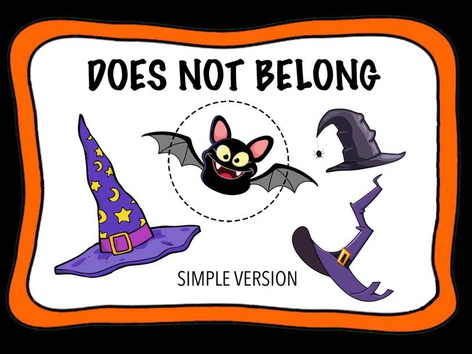 Does Not Belong - Halloween by Cici Lampe