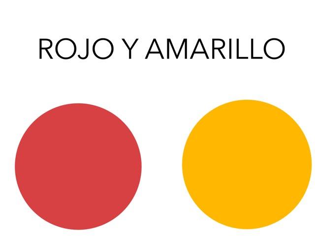 CÍRCULOS ROJOS Y AMARILLOS by Jose Sanchez Ureña