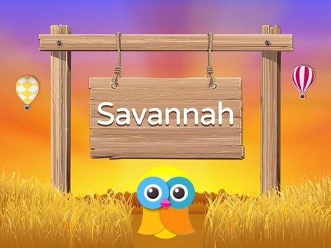 Wikids - Animals: Savannah (EN UK) by Wikids