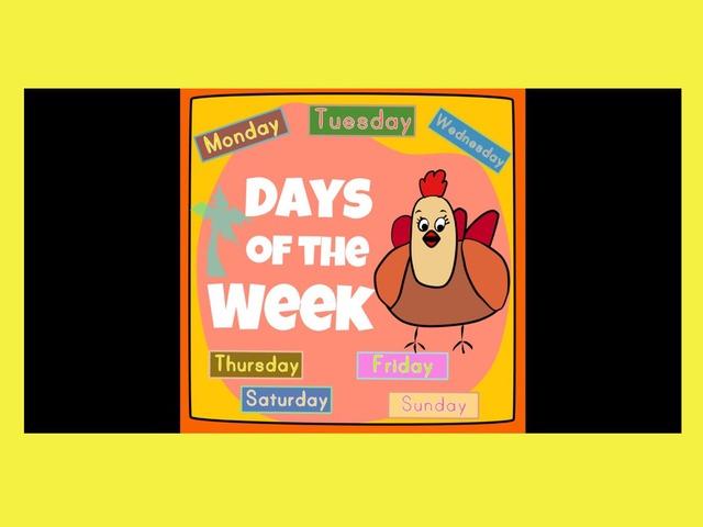 Days Of The Week by Carol Smith