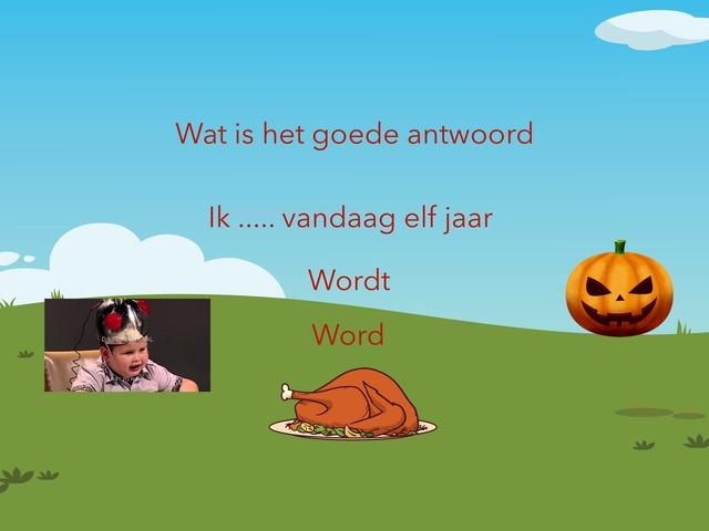 Werkwoorden Spelling by rienk