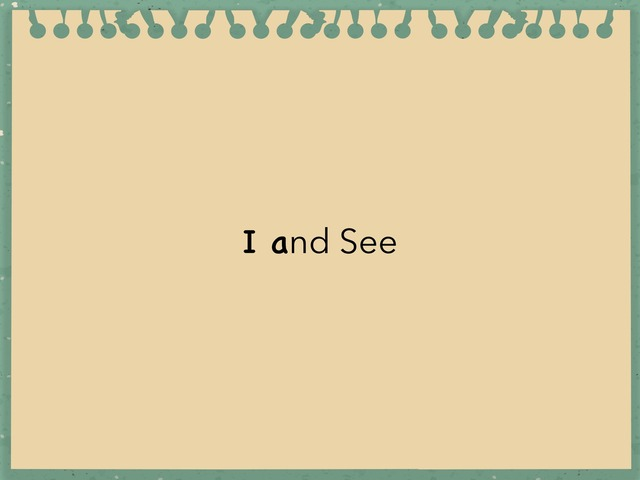 I and See by Jenny Lehman