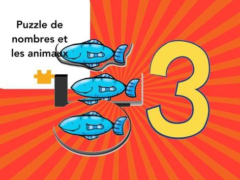 Les nombres et les animaux 1-5 by Mr. Puzzlez
