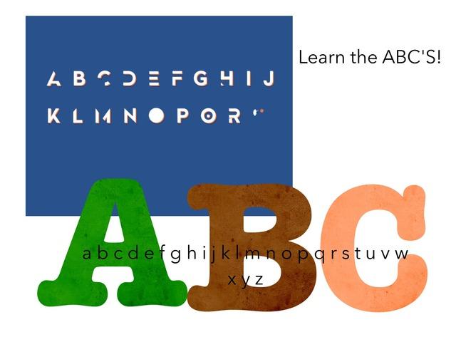 Let's Learn The ABC'S by Nina Hernandez Hernandez-Parada