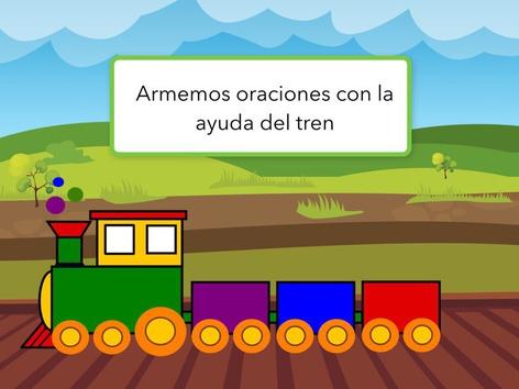 Oraciones 3 Palabras Con Tren by Marcela Frias Pfeiffer