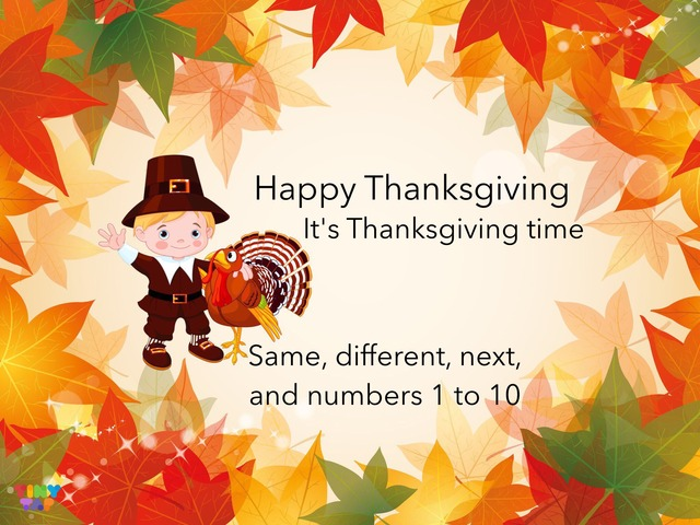 Thanksgiving by Carol Smith