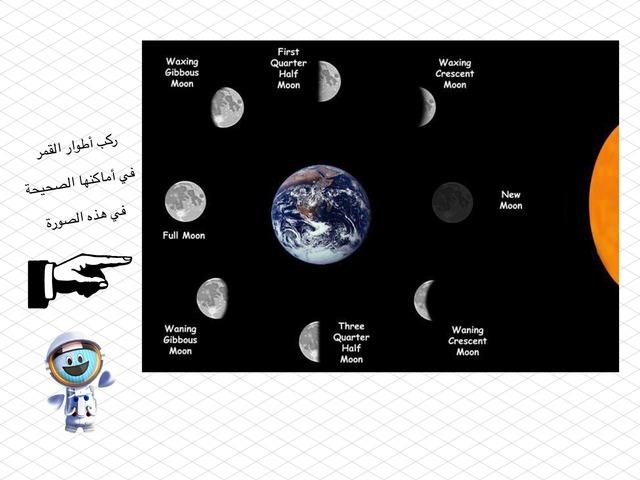 أطوار القمر by ali abdullah