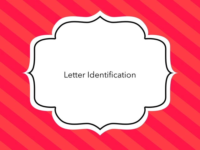 Letter Identification With P2GO by Federica Carulli