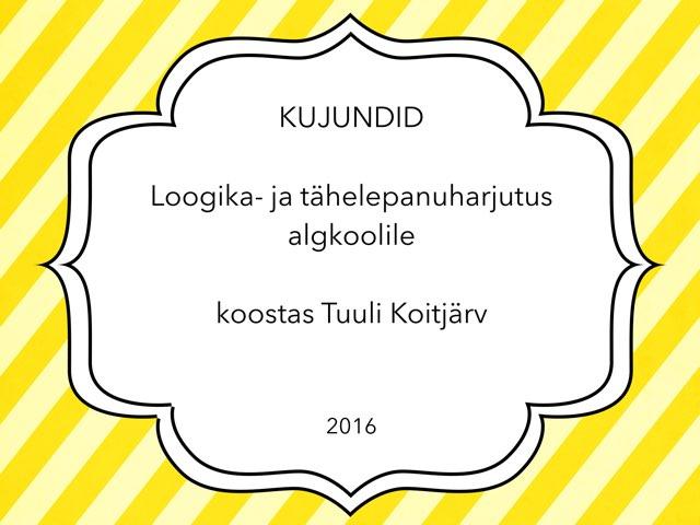 Kujundid by Tuuli Koitjärv