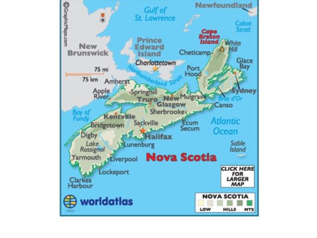 Nova Scotia Quiz by 3md md