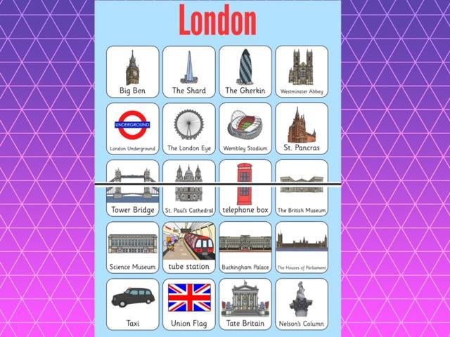 London Landmark Names by Deborah Fletcher