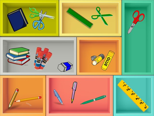 School Items by Laura Bisquertt