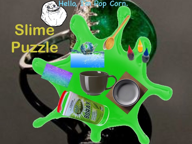 Slime Puzzle For Csani And Barni by Barbi Bujtas