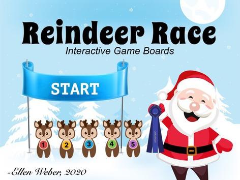 Reindeer Race by Ellen Weber