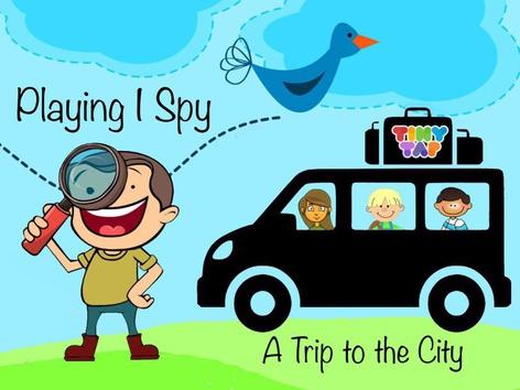Playing I Spy - City by Cici Lampe