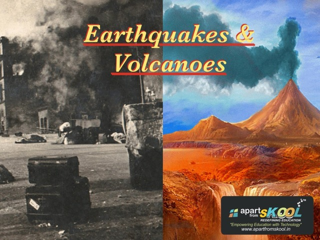 Earthquakes & Volcanoes by TinyTap creator