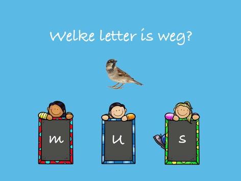 Welke letter is weg? by Nelleke Lürsen