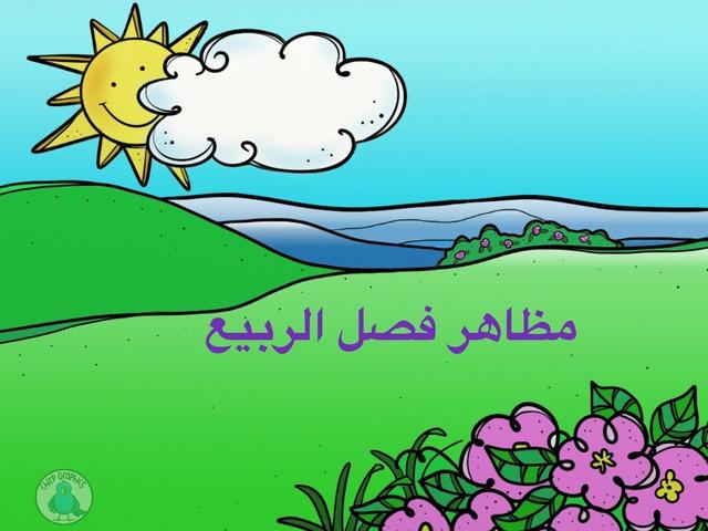 مظاهر فصل الربيع by Baha Obedat