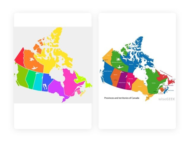 Map Of Canada by Charlene Padovese