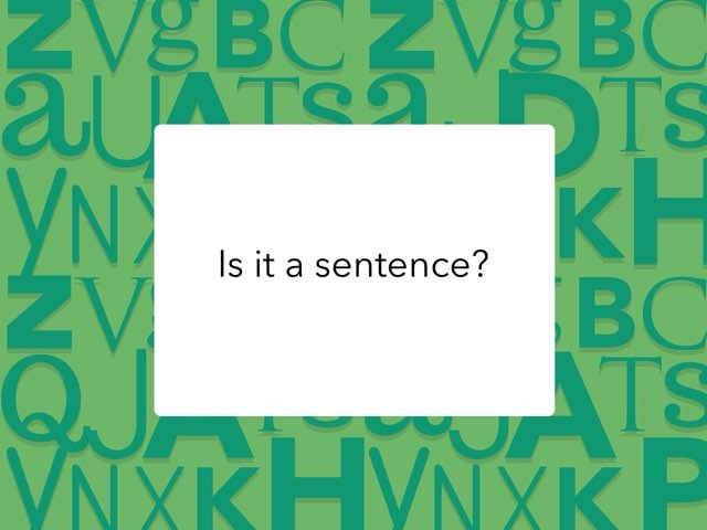 Is It A Sentence? by Laura Rayome